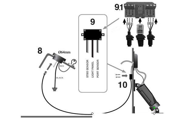www insta trim com_images_tt instructions 02 insta trim boat levelers Boat Trim Switch Wiring Diagram
